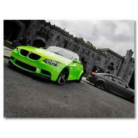 Αφίσα (μαύρο, λευκό, άσπρο, αυτοκίνητο, πράσινος)